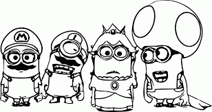 minions the movie coloring page coloring pages for all ages