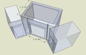 Kitchen Sink Dimensions - kitchen sink base cabinet u2013 meetly co