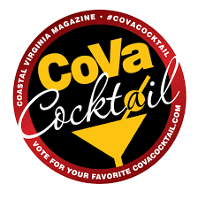 cocktail logo cova cocktail party virginia beach va