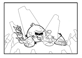 100 ideas free coloring pages angry birds space