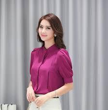 womens blouses for work black summer business blouses ol