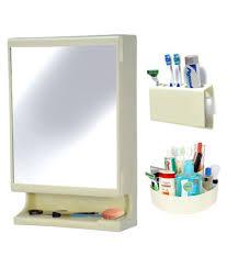 buy ciplaplast combo of new look multipurpose bathroom mirror