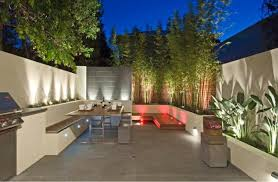 Modern Landscaping Ideas For Backyard A Fusion Courtyard C O S Design