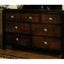 Solid Wood Bedroom Dressers Amazon Com Patra Solid Wood Acacia And Walnut Finish Bedroom