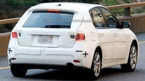 Spy Photos Subaru Impreza Hatchback