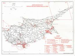 Map Of Cyprus Maps British Attempts At Controlling Cypriot Sovereignty