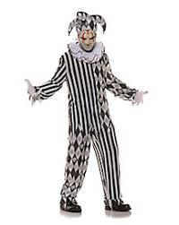Halloween Clown Costumes Scary Evil Harlequin Costume Halloween Costumes