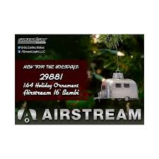 greenlight hobby exclusive airstream 16 ornament
