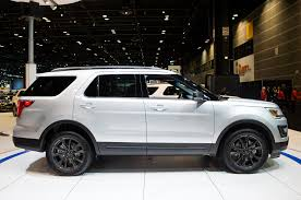 Ford Explorer Ecoboost - 2017 ford explorer adds xlt sport appearance package
