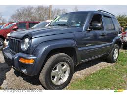 liberty jeep 2002 2002 jeep liberty limited 4x4 in steel blue pearlcoat 145928