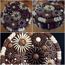 easy ways to decorate a cake at home chocolate button cake decorating ideas amazing interior design