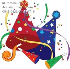 new year s party favors illustration of party favors for new year s