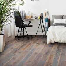 Grey Laminate Flooring B Q Colours Soren Natural Solid Oak Flooring Oak Effect 1 48 M Pack
