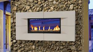 indoor outdoor see through gas fireplace the differences of