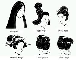 hair styles of ancient japan formen hair in historyblack hair style black hair style hairstyles for