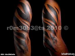 tattoos guardian angels full arm tribal tattoo designs