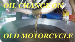oil change on a motorcycle sitting for years 1980 yamaha youtube