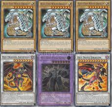Stardust Dragon Deck List by Custom Jack Seto Deck Blue Eyes White Dragon Red Nova Dragon