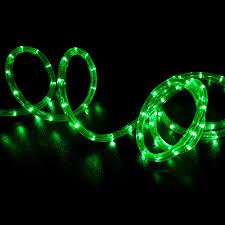 50 green led rope light home outdoor lighting wyz works