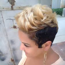short hairstyles for black women spiked on top small curls in back and sides of hair 40 chic short haircuts popular short hairstyles for 2018