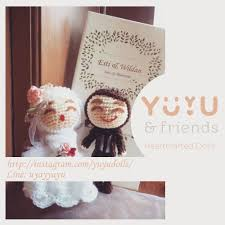 wedding gift bandung yuyu and friends custom dolls