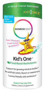 rainbow light kids one rainbow light kids one multistars fruit punch jpg