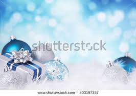 Christmas Decorations In Blue And White by Blue Christmas Lights Stock Images Royalty Free Images U0026 Vectors
