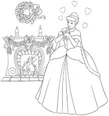 coloring coloring pages of cinderella coloring pages of