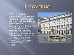 sede presidente della repubblica italiana governo della repubblica italiana ppt scaricare