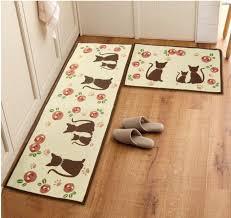 Decorative Kitchen Floor Mats by Retro Kitchen Rug Roselawnlutheran