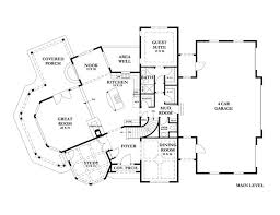french country floor plan chateau de rhone by ecotecture studios