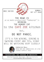 one night stand chef hungry cat kitchen
