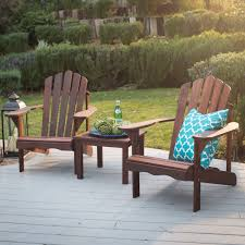 Patio Table And Chairs Set Belham Living Richmond Deluxe Shorea Wood Adirondack 2 Chair Set