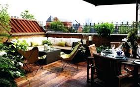 roof garden design ideas simple roof garden design with wooden