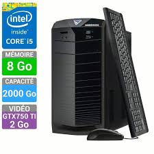 ordinateur de bureau gaming medion pc gamer akoya b440 e2276d prix pas cher cdiscount