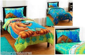 Scooby Doo Bed Sets Boys Scooby Doo Bed In A Bag Comforter Set Ebay