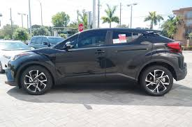 2018 toyota c hr will new 2018 toyota c hr xle sport utility in miami b005268 toyota