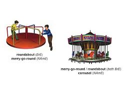 roundabout 1 noun definition pictures pronunciation and usage