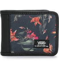 bloom wallet vans exter bloom bifold wallet zumiez