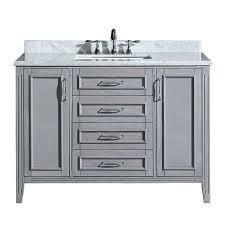 Best Best Vanities Lowescom And ATGStorescom Images On - 48 inch white bathroom vanity lowes