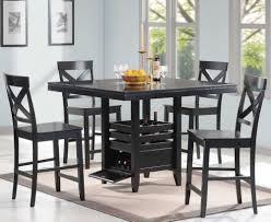 Dining Room Tables Set by Bayle Black Formal Dining Room Furniture Set Oval Table Black