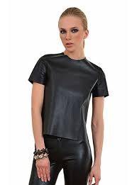 leather blouse zeynep arcay leather blouse