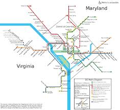 Washington Dc Airports Map by File Washington Dc Metro Map Svg Wikimedia Commons