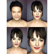 looking for makeup artist makeup artist transforms himself into