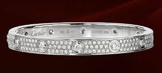 diamond love bracelet images Cartier love diamond paved white gold bracelet the best ancgweb jpg