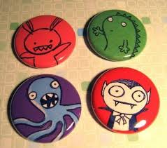 110 best halloween buttons and badges images on pinterest badges