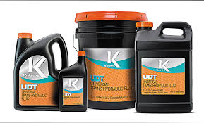 genuine kubota oil and udt fluids are factory recommended and