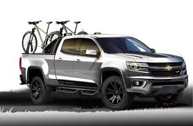 chevy colorado silver the new 2015 chevy colorado sport concept was shown at the texas