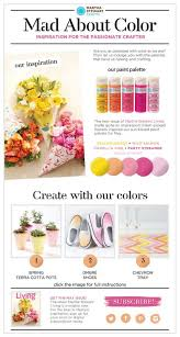 martha stewart crafts mad about color may 2014 decorate