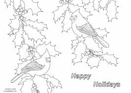 forest wildlife art holiday greeting coloring page for children